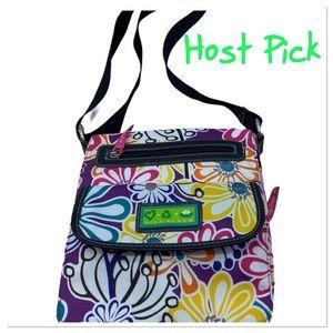 Lily Bloom crossbody floral bag